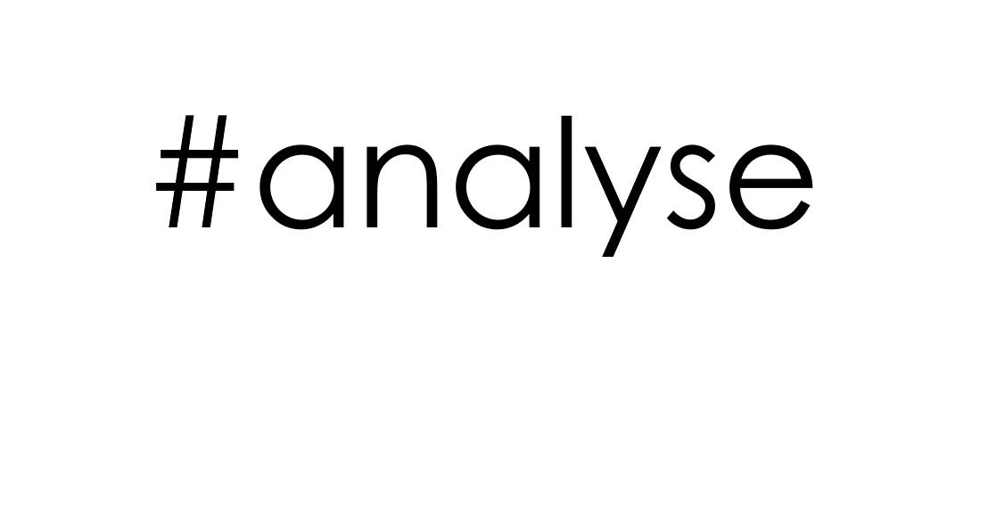 hashtag analyse social (instagram, facebook, twitter)